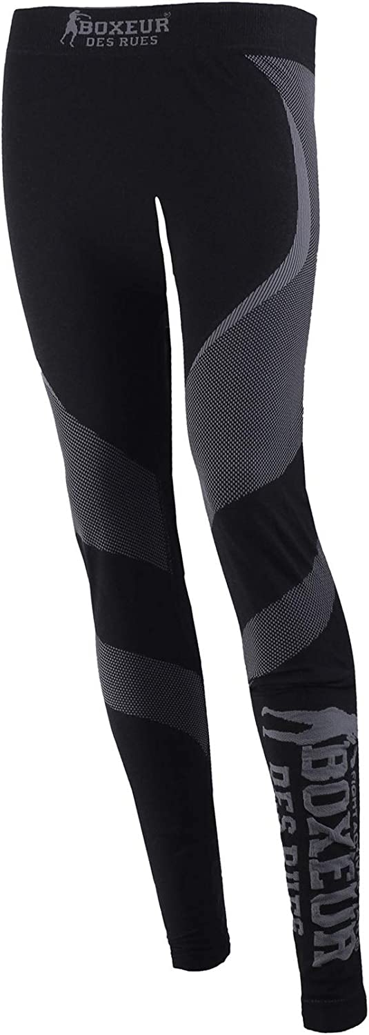Woman Lady Seamless Leggings in Dryarn and Microfiber Boxeur Des Rues