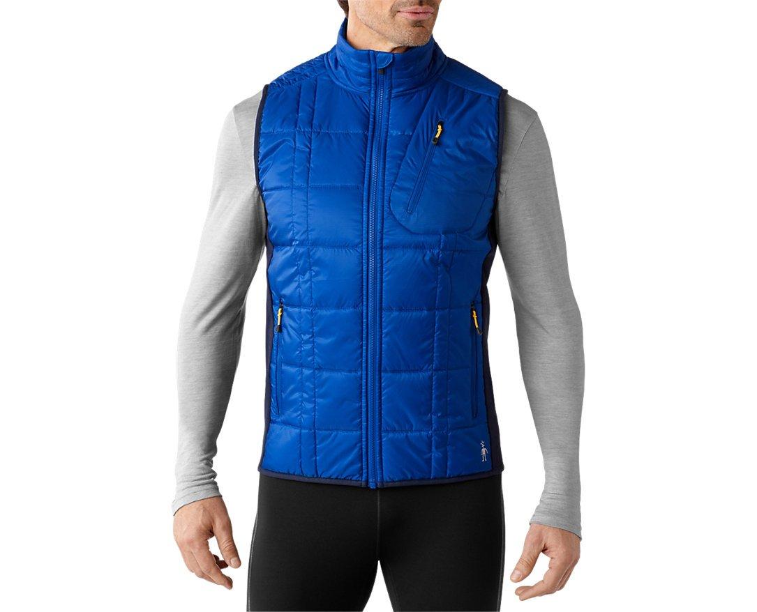 Smartwool Men's Corbet 120 Vest (Bright Blue) X-Large