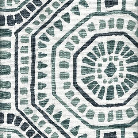 Close to Custom Linens Close To Custom Linens Gathered Bedskirt Bricktown Spice Geometric Rosy Tan Slub Linen 18