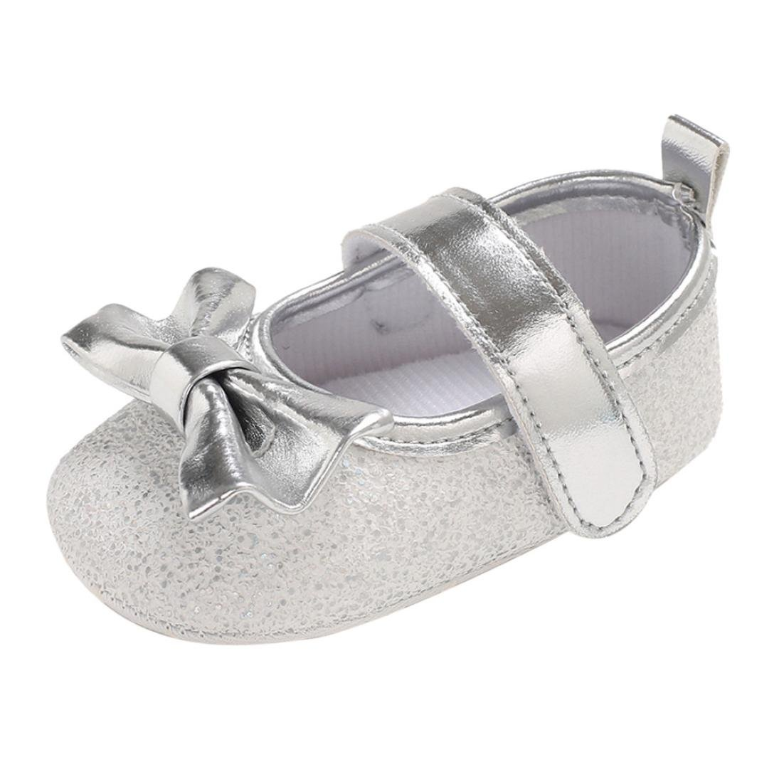 512140b32af10 Zapatos de para Bebé Niñas Otoño Invierno PAOLIAN Zapatos de Primeros Pasos  Suela Blanda Bautizo Antideslizante