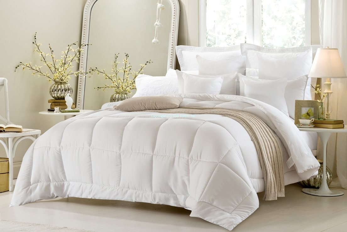 comforters bag bedding alloy bed set sale size oversized a in comforter bean tuck twin pin