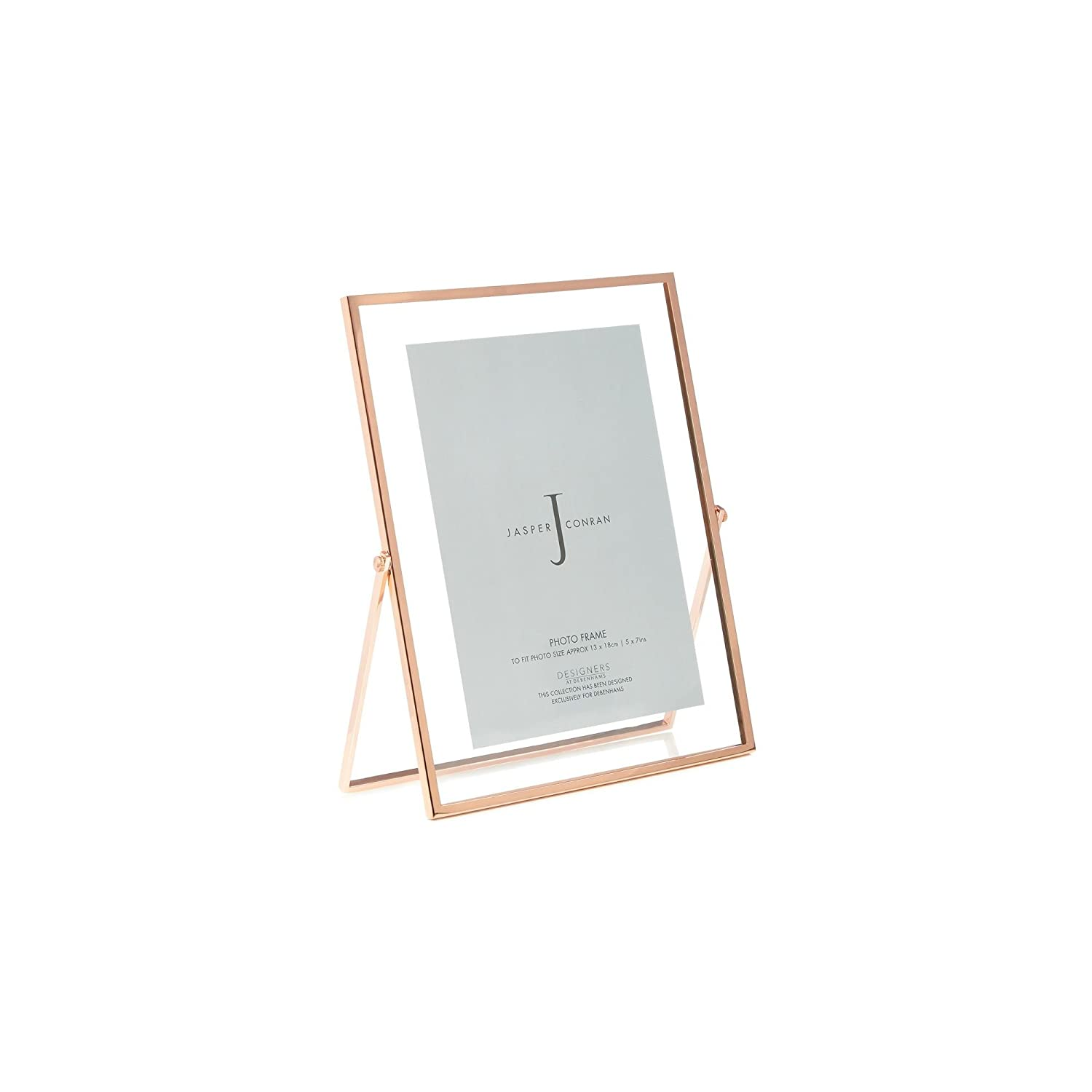 9b1e290c612 Debenhams J By Jasper Conran Rose Gold Hinged Photo Frame 4 X 6 Inches  J  by Jasper Conran  Amazon.co.uk  Kitchen   Home