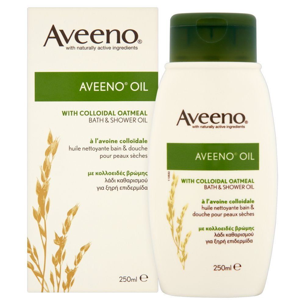 Amazon Aveeno Bath Oil 250ml Beauty