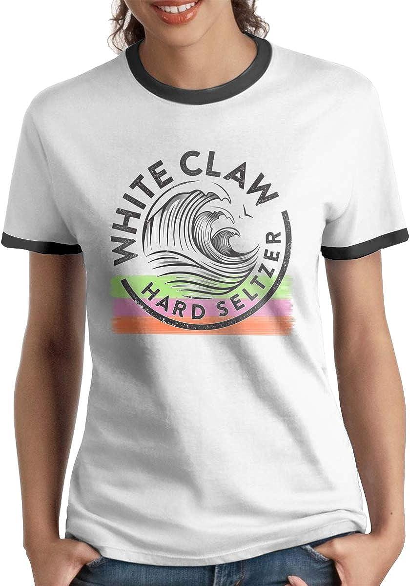 Womens White-Claw Short Shirts Tee