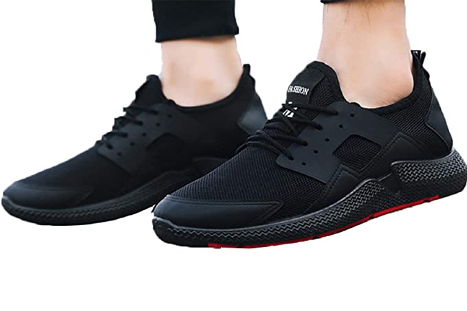 Men/'s Breathable Mesh Sneakers Casual Walking Running Athletic Sports Flat Shoes