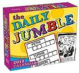 The Daily Jumble 2019 Boxed Daily Calendar, 6 x 5, (CB-0510)