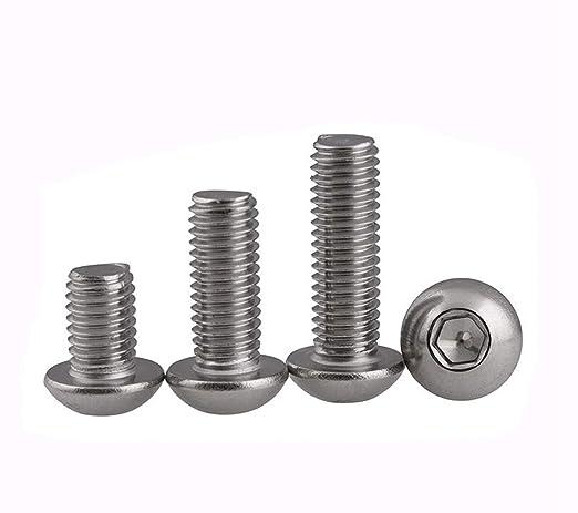 50 tornillos hexagonales tuercas A2 M10 x 40 acero inoxidable A2 clase de resistencia 70