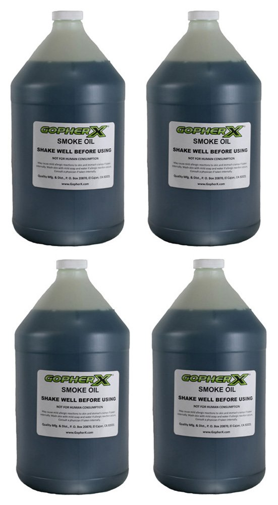 4 Gallon-sized Bottles Gopher X Exterminator - Pest and Rodent Control by Gopher X (Image #1)