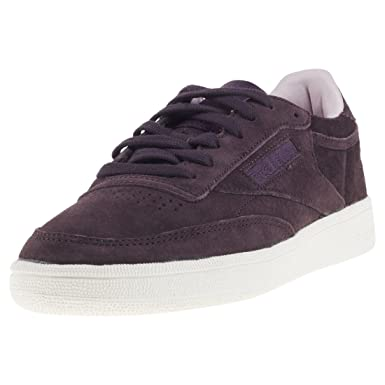 26571463ae892 Image Unavailable. Image not available for. Color  Reebok Club C 85 Womens  Sneakers Purple