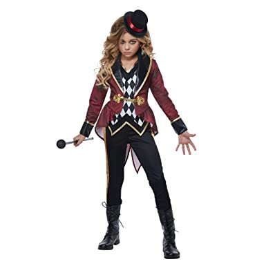 Amazon.com California Costumes Ringmaster Girls Child Circus Costume Toys u0026 Games  sc 1 st  Amazon.com & Amazon.com: California Costumes Ringmaster Girls Child Circus ...