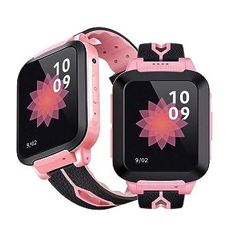 VBESTLIFE Smartwatch GPS, Montre Connectée pour Enfant Garçons Filles Montre de GPS avec Écran Tactile