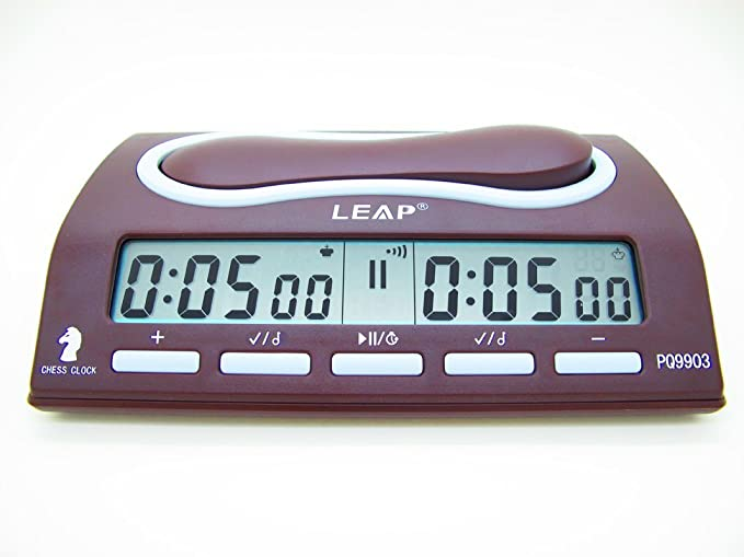 Amazon.com: LEAP Digital Chess Clock Timer With 29 Timing Modes: Home & Kitchen