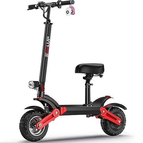 Scooter eléctrico todoterreno, absorción de choque 6 veces ...