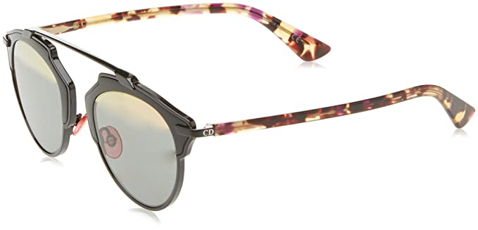 Dior DIORSOREAL ZJ NT1 Gafas de sol, Negro (Shiny Black ...