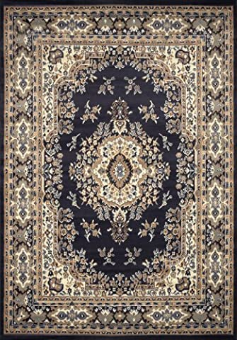 Home Dynamix 10-7069-300 Premium Collection Area Rug, 9 x 12-Feet, Navy Blue (Area Rug 12 By 12)