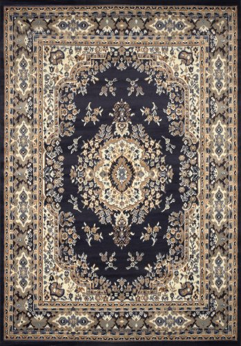 Home Dynamix 10-7069-300 Premium Collection Area Rug, 9 x 12-Feet, Navy Blue