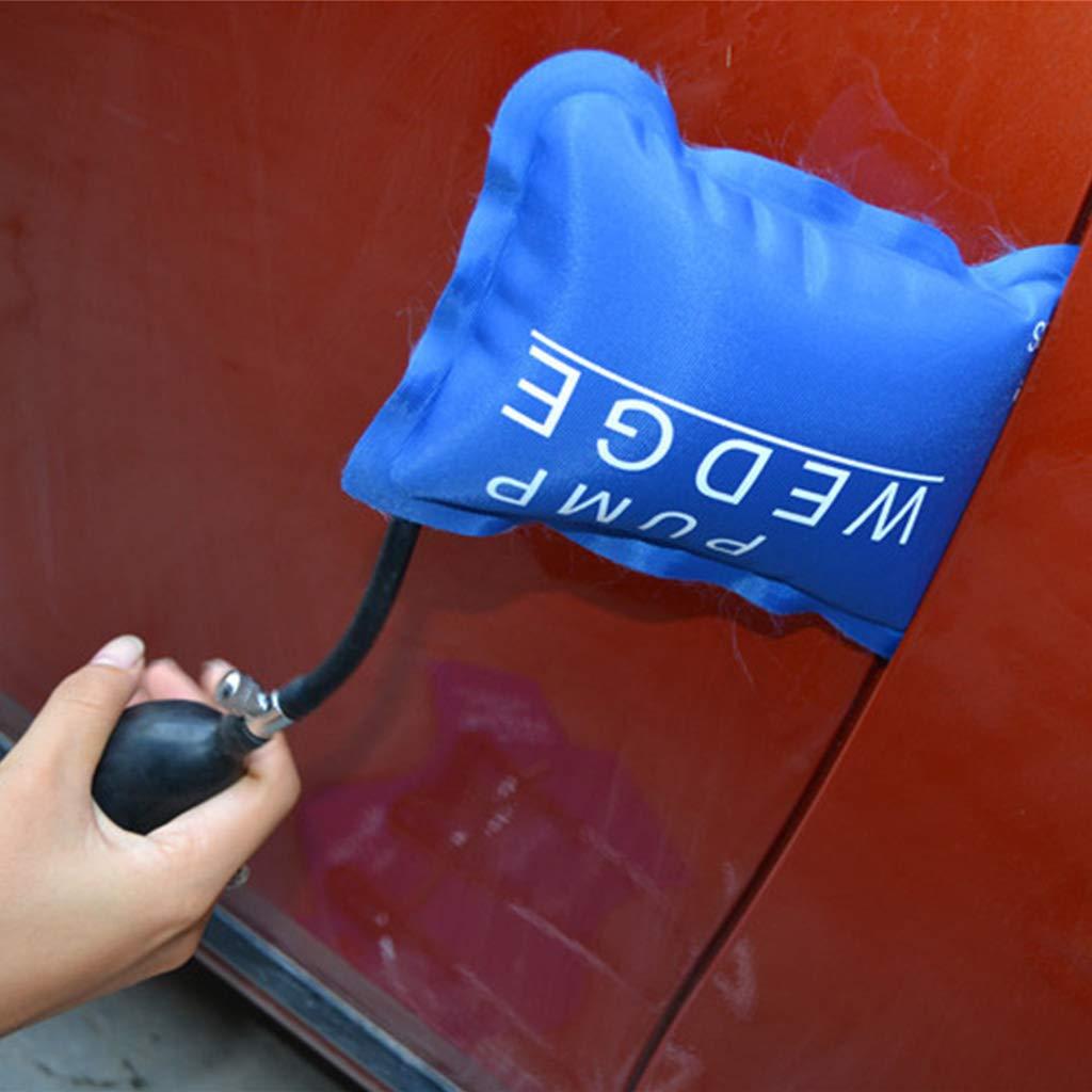 XXguang 1 pieza de suministros de cerrajero bomba cu/ña cerrajero herramientas coche emergencia puerta airbag