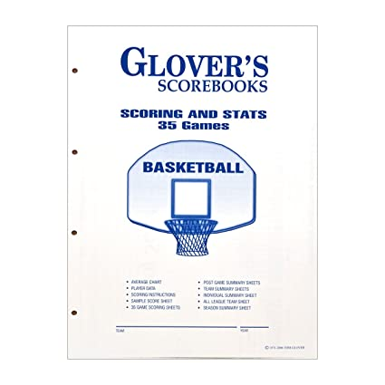 Amazon.com: Glovers scorebooks Baloncesto Juegos Scoring y ...