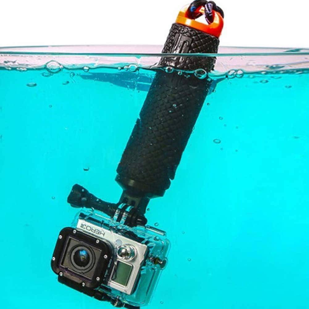 SUHAPPY Selfie Stick Handheld Float Camera Hand Grip Holder Monopod with Adjustable Wrist Belt for Gopro