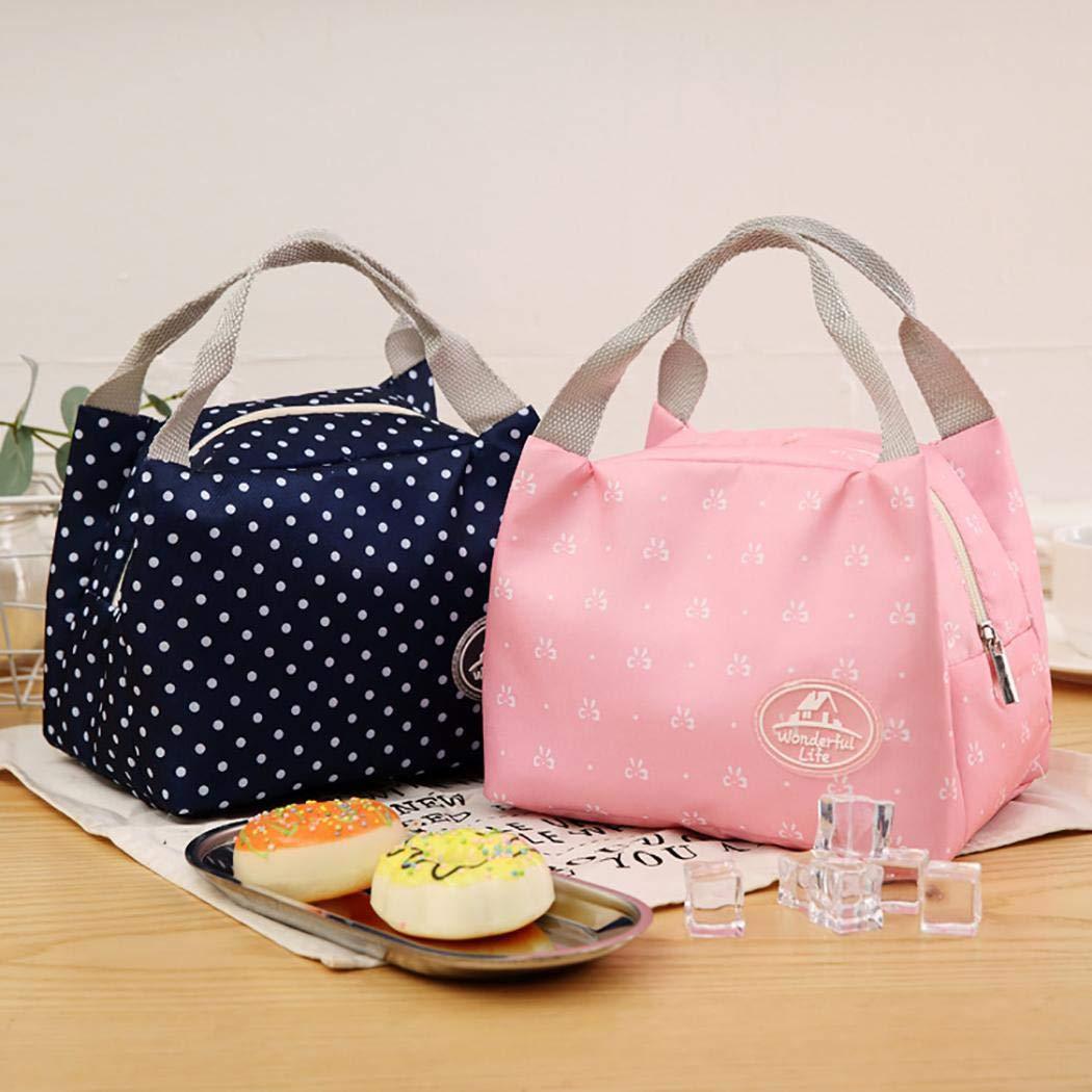 Bolsas de almuerzo térmicas (8 colores) por sólo 2,40€ con el #código: S7HQTDUF