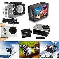 Hanbaili 12MP 1080P Helmet Sports DV Video Car Cam Full HD DV Action Waterproof 30M Camera