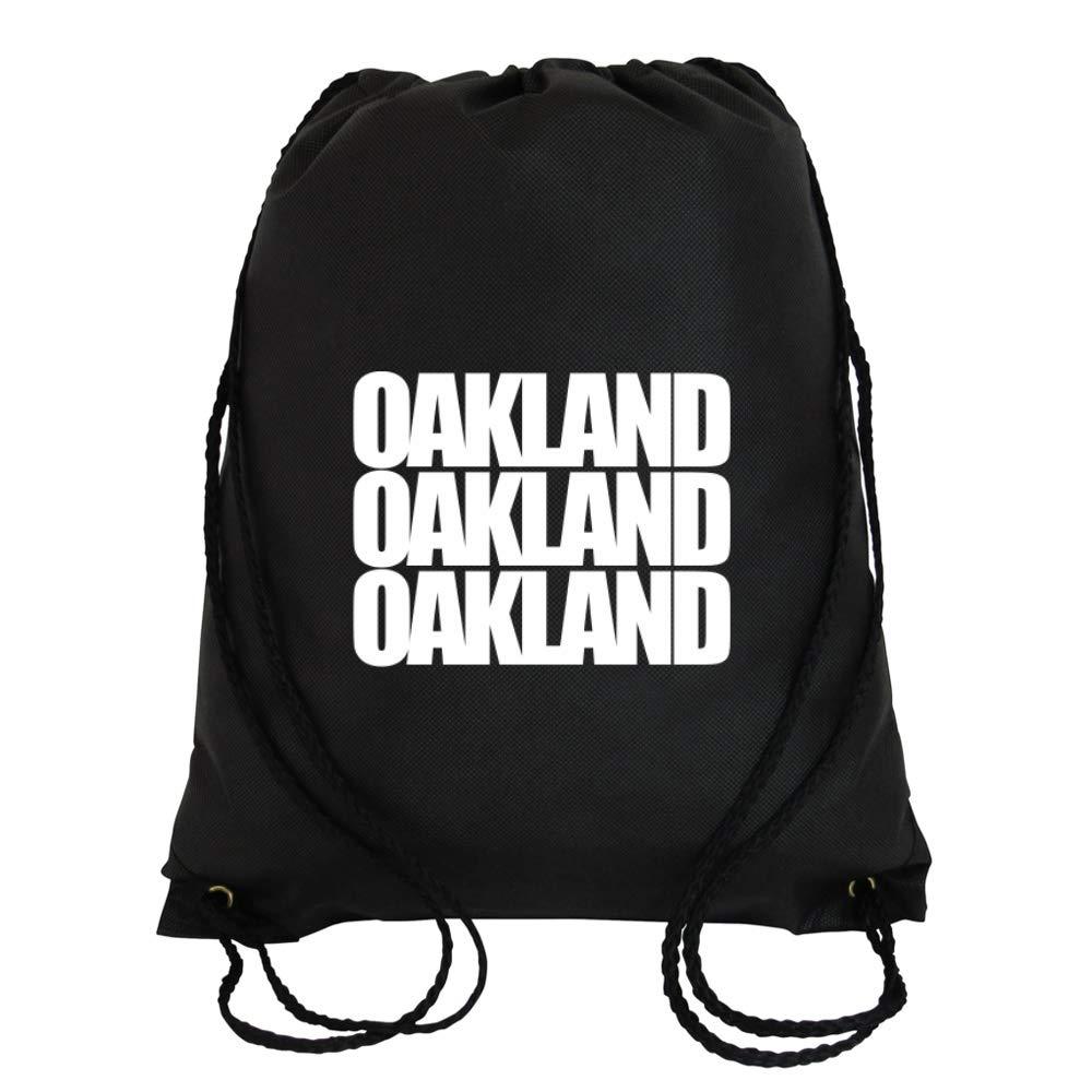 Idakoos Oakland Three Words - Villes des Etats-Unis - Sac À Cordon