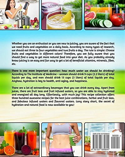 365 Days Of Healthy Drinks Fruit Infused Water Ice Tea Smoothies