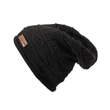 JUTOO mesh Hats Mens hat Shops Near me Mens Outdoor Hats Men Women Warm  Crochet Winter 296dd259744