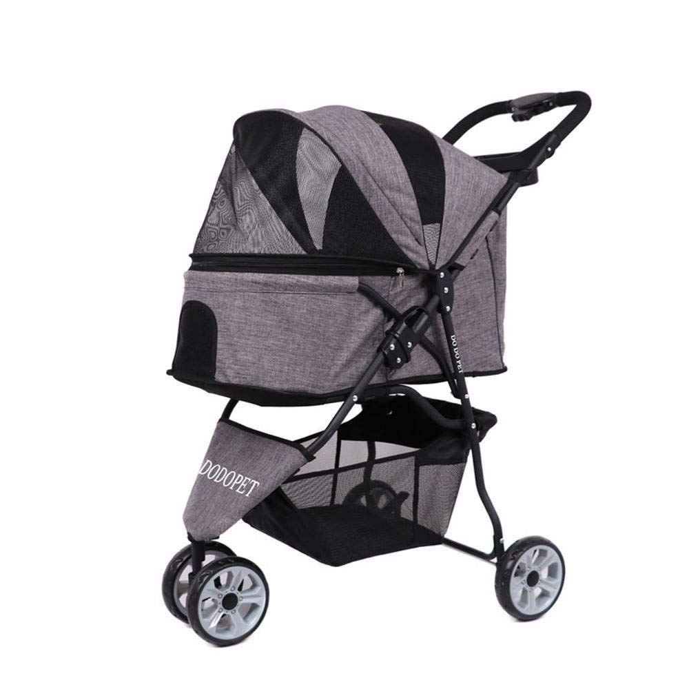A Lozse Pet Stroller Dog Pushchair Dog carts out of portable carts without tool inssizetion
