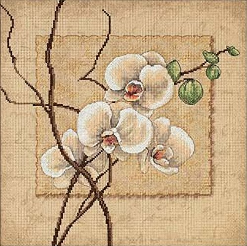 Dimensions Needlecrafts Counted Cross Stitch, Oriental Orchids