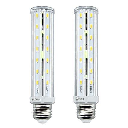 Bonlux 2-Pack 10W E27 LED Corn Light Bulb Cool White 6000K 75W-80W Equivalent ES