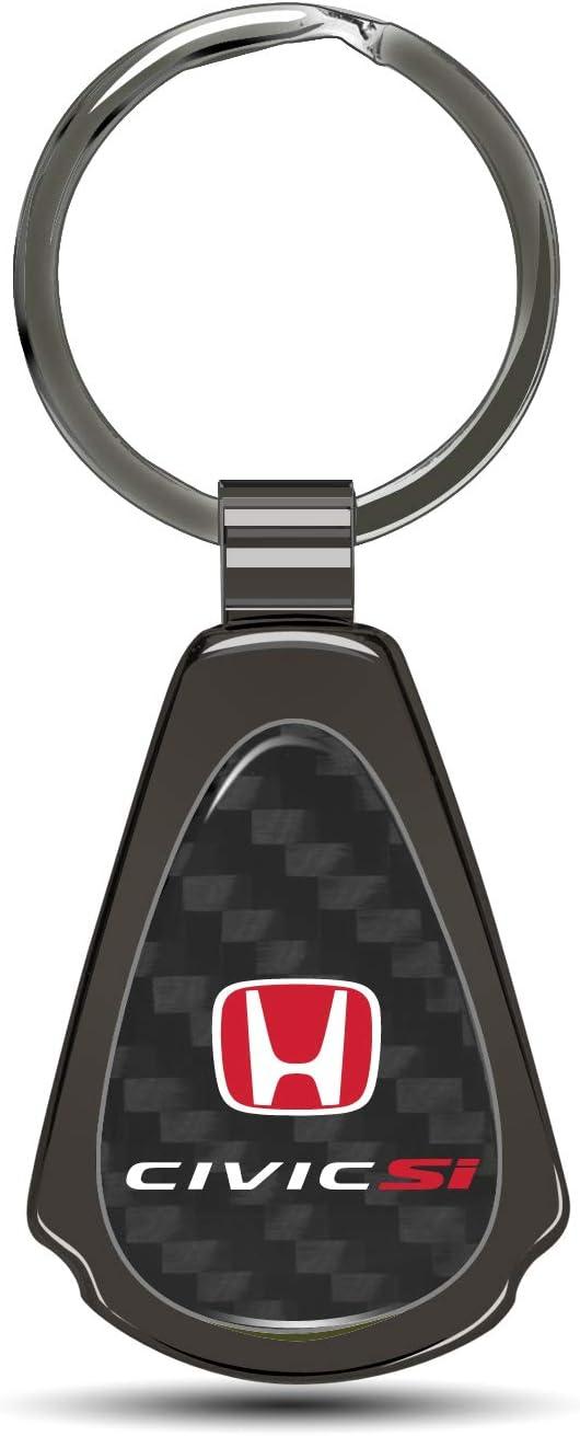 Honda Civic Red Tear Drop Key Chain Key Chain