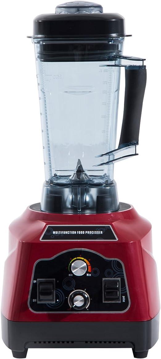 Homcom® batidora licuadora Cocina batidora sin BPA Batidos ...