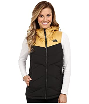 b5b3e6ef8 The North Face Women's Kailash Hooded Vest TNF Black/Curry Gold ...