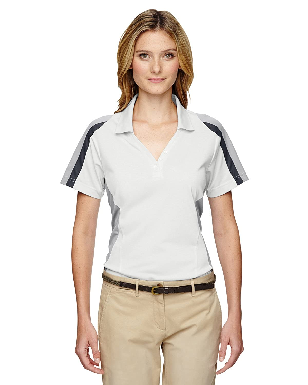75119 Extreme Womens Eperformance Strike Colorblock Snag Protection Polo