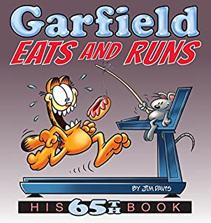 Book Cover: Garfield Eats and Runs: His 65th Book