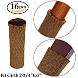Chair Leg Covers for Hardwood Floors MelonBoat Chair Leg Socks, Hardwood Floor Protectors, Furniture Feet Caps Covers, Fit Girth 2-3/4