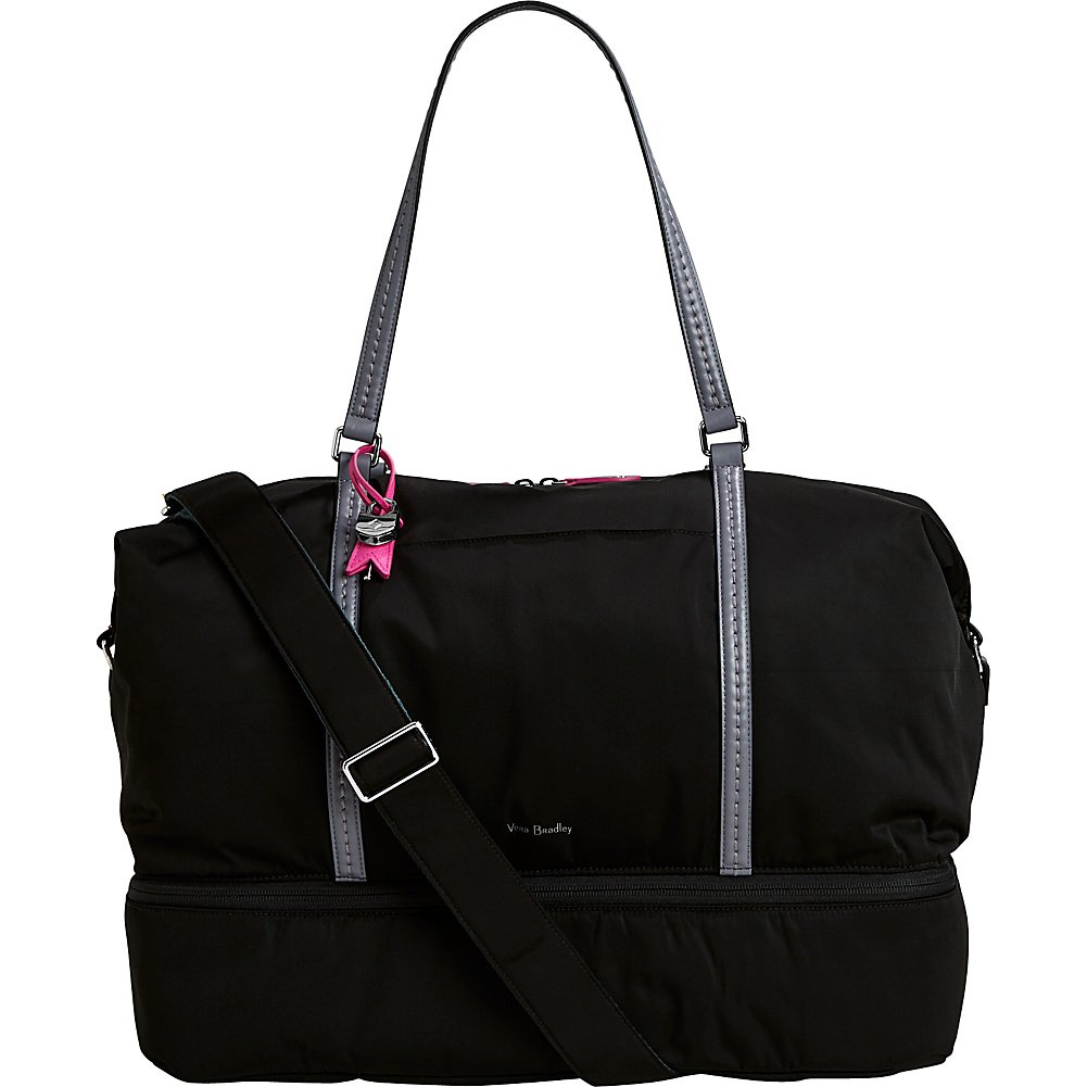 Vera Bradley Midtown Travel Bag - Solids (Black)