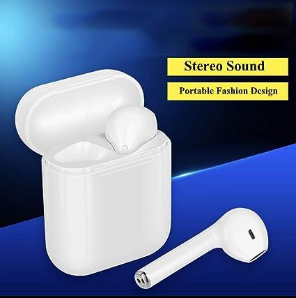 Auriculares Bluetoot earpod Tws i8X Auriculares Inalámbricos In Ear V4.1 par TWS Estéreo en
