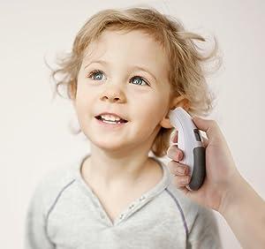 AVANTEK Termómetro de Oído con Memoria de Temperatura