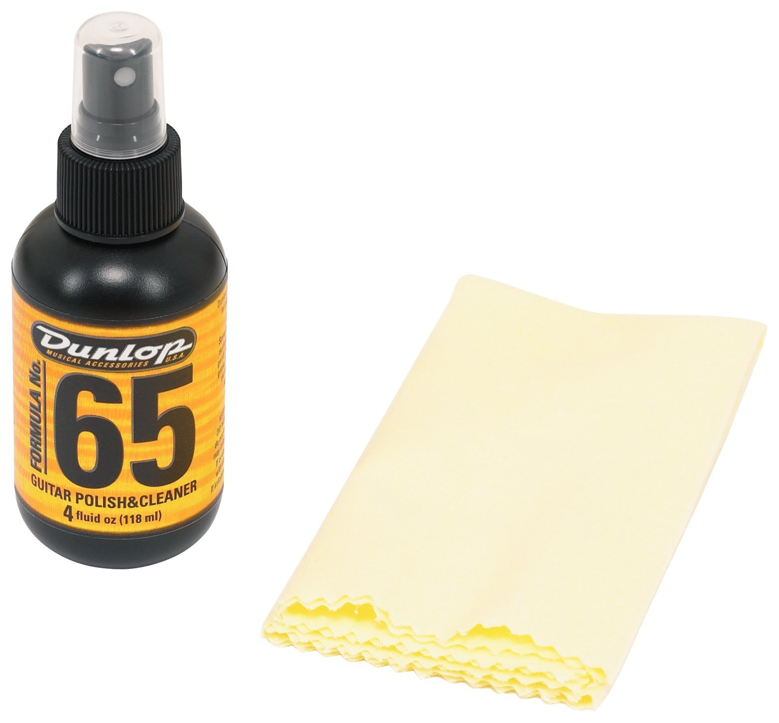 Dunlop 654C Formula 65 Polish & Cleaner with Cloth