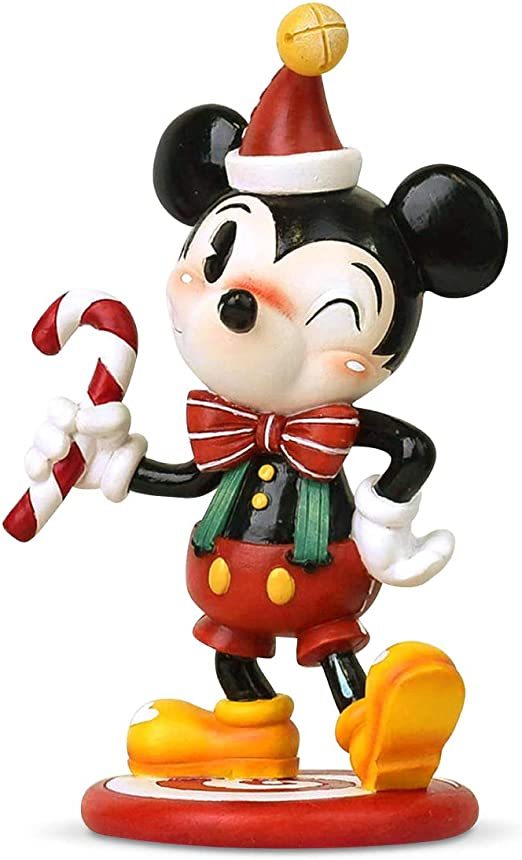 Disney Mrs Santa Minnie Mouse Christmas Cotton Flannel Full Sheet Set White//Pink