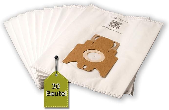 Bolsa para aspiradora compatible con Miele S 8340 EcoLine | 30 bolsa para el polvo + 6 Micro de filtro + 6 filtro de motor, similar a original de bolsa: Tipo G: Amazon.es: Hogar