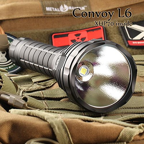 Convoy L6 XHP70 3800LM Super Bright Long Range LED Flashlight (Design N4-5C) by LEEPRA (Image #4)