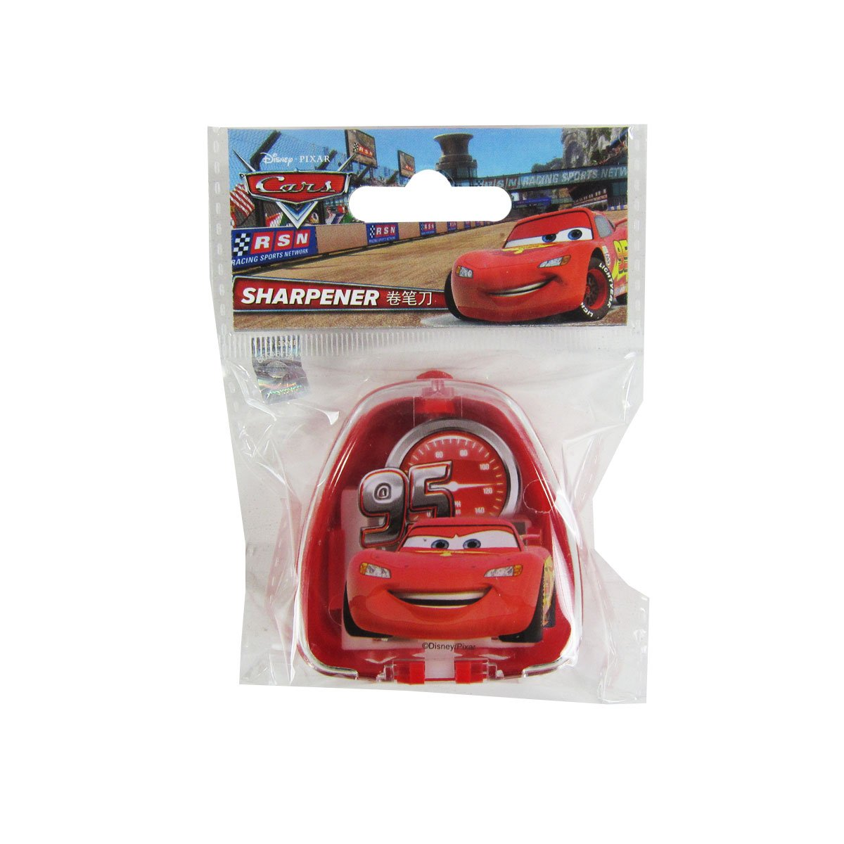 Officially Licensed Three Size Pencil Sharpener - Lightning McQueen by Mirage
