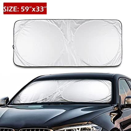 Amazon Com Ic Iclover 59x33inch Big Foldable Silvering Reflective