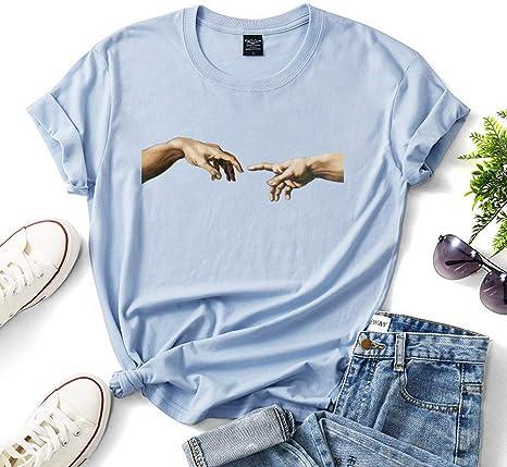 XUJIN Camiseta de algodón de Manga Corta Camiseta Interior de ...