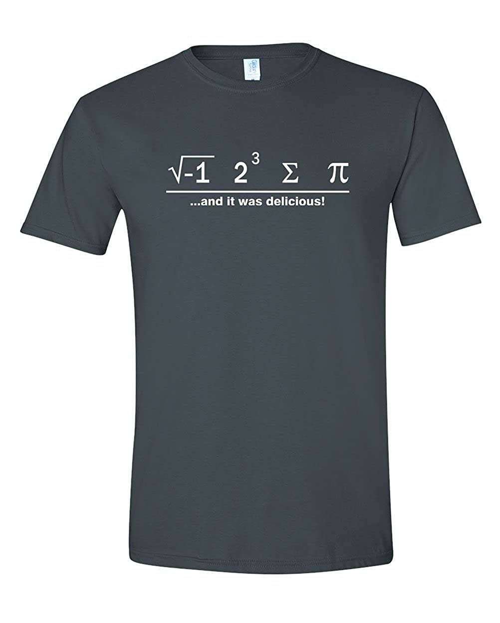 Men's I Ate Some Pie And It Was Delicious Math Ate Sum Pi T-Shirt 1617