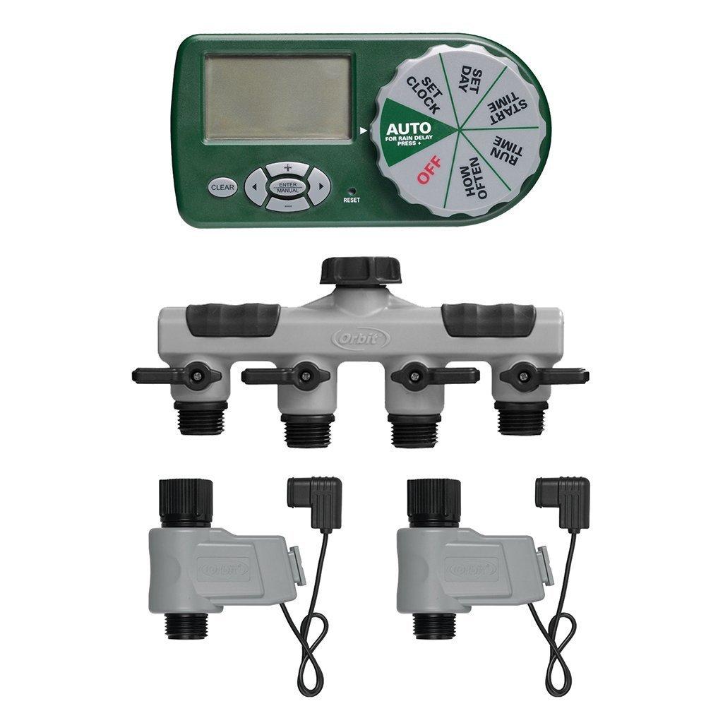 Amazoncom Orbit 58872N Complete Yard Watering Kit Watering