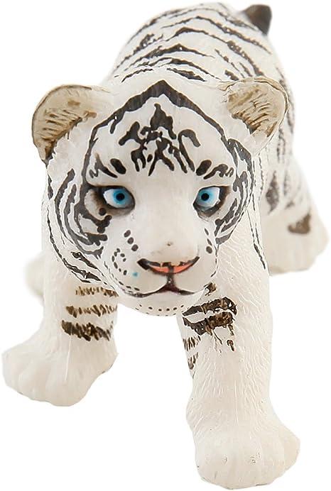 Wild Animal Kingdom-modèle 50045 White Tiger Figure Papo